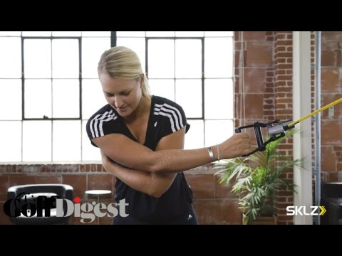Resistance-Band Exercises That Help Synchronize Your Swing | Golf Digest