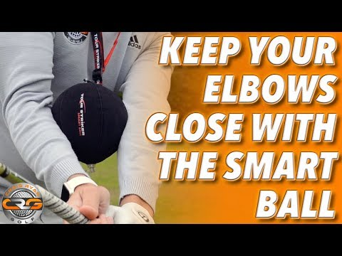 KEEP YOUR ELBOWS CLOSER WITH THE TOUR STRIKER SMART BALL