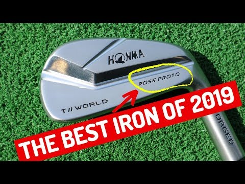 THE BEST IRON OF 2019?! JUSTIN ROSE PROTO GOLF IRONS