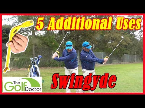Swingyde Golf Swing Training Aid | 5 Drills