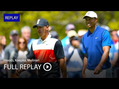 Full replay: Tiger Woods, Brooks Koepka, Francesco Molinari in first round at 2019 PGA Championship
