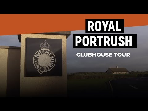 Royal Portrush Clubhouse Tour