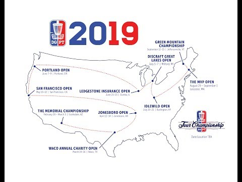 2019 Disc Golf Pro Tour Schedule