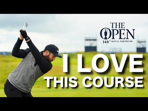 I play THE OPEN golf course – Royal Portrush