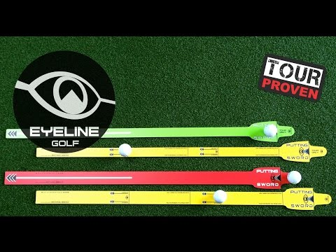 Golf Training Aids-Introducing the Putting Sword Developed with Michael Breed – EyeLine Golf