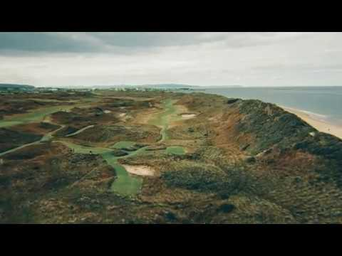 Flyover Tour of Royal Portrush–Site of the 2019 Open Championship | TaylorMade Golf
