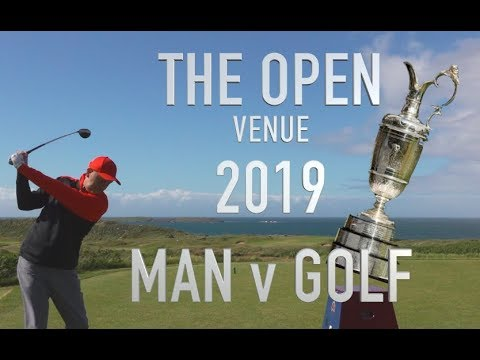 Golf Challenge at The Open venue 2019 Royal Portrush