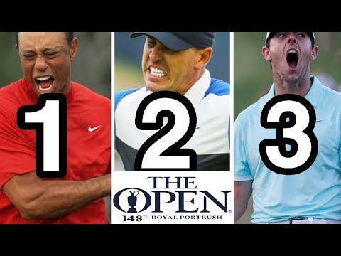 Top 7 Hottest 🔥 Players At The Open Championship @ Royal Portrush Golf Club