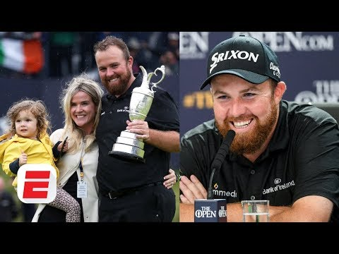 Shane Lowry reacts to winning his first major | The Open Championship