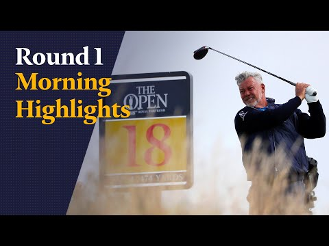 The 148th Open – Round 1 Morning Highlights