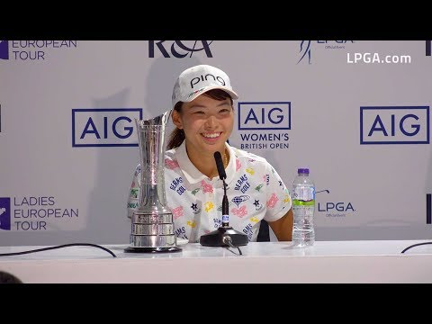 Hinako Shibuno Victorious at the 2019 AIG Women's British Open |  チャンピオン