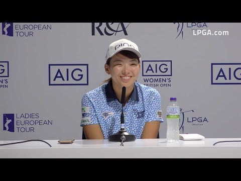Hinako Shibuno Cards Third Round 67 and Leads the 2019 AIG Women's British Open