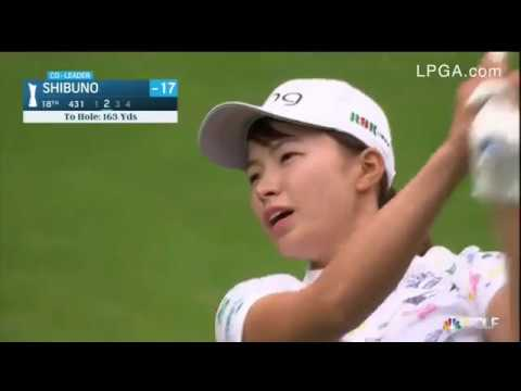 Hinako Shibuno wins the AIG British Open in her first LPGA event