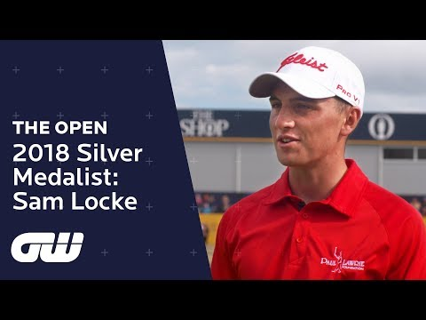 Open Championship Silver Medalist: Sam Locke | The Open Championship 2018 | Golfing World