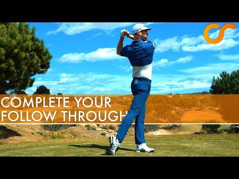 HOW TO COMPLETE YOUR GOLF FOLLOW THROUGH