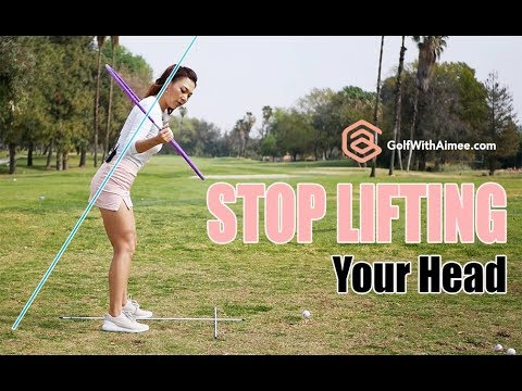 Stop Lifting Your Head | Golf with Aimee