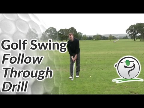 Golf Follow Through Drill