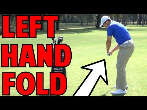 Golf Follow Through | The Left Hand Fold
