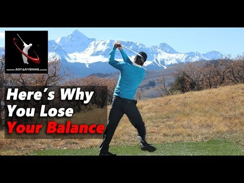 Why You Lose Your Balance in the Golf Swing – How to FIX IT!