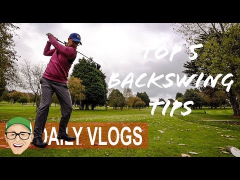 TOP 5 BACKSWING GOLF TIPS