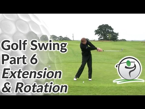 Golf Swing Extension – How to Release your Arms & Hands after Impact