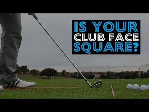 How to tell if your club face is square!