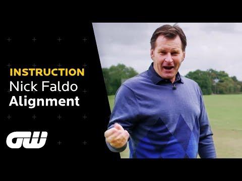 Perfecting Golf Alignment | Nick Faldo Golf Tips | Instruction | Golfing World