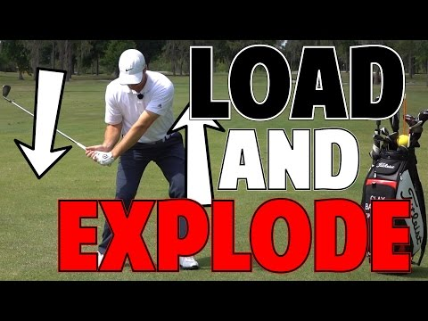 How to Increase Golf Swing Speed | Load and Explode