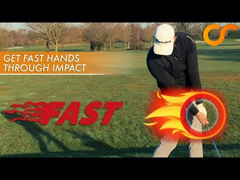 MORE DISTANCE WITH 'FAST HANDS' THROUGH IMPACT