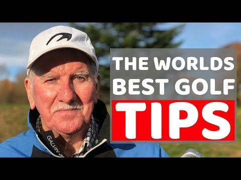 THE WORLD'S BEST GOLF TIP THE PRO'S  WILL NOT SHOW YOU