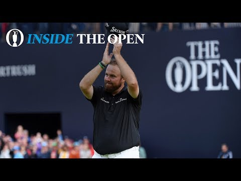 Inside The Open – Celebrating with the Champion in Dublin