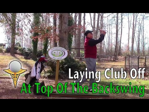 Laying Club Off At Top of Backswing – How to Golf Tips
