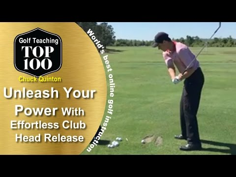 Unleash Your Golf Swing Speed & Power With This Release Technique
