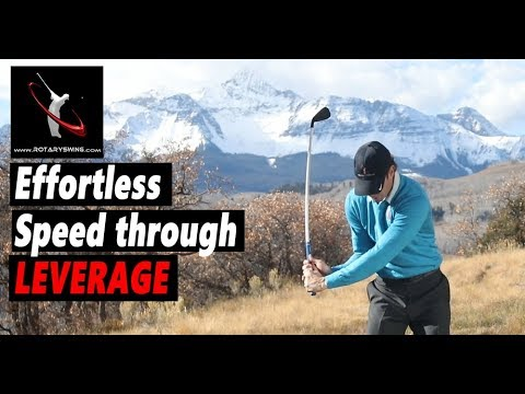 How to Have Effortless Golf Swing Speed by Using Leverage