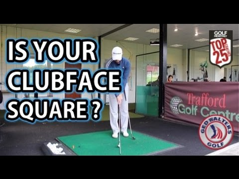 Golf Tip – Is Your Clubface Square ?