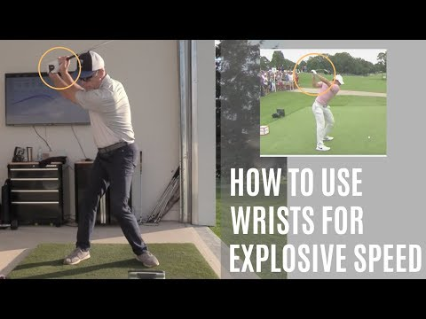 HOW TO USE WRISTS FOR EXPLOSIVE SWING SPEED!-WISDOM IN GOLF