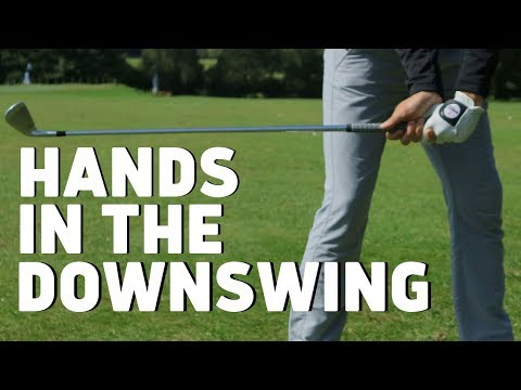 WHERE SHOULD YOUR HANDS BE IN THE DOWNSWING