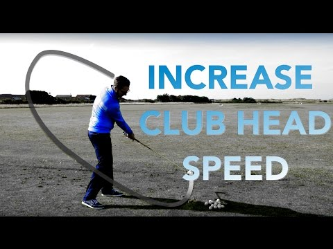 INCREASE GOLF CLUB HEAD SPEED THROUGH IMPACT