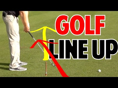 How to Line Up To Golf Ball | Feet & Club Face