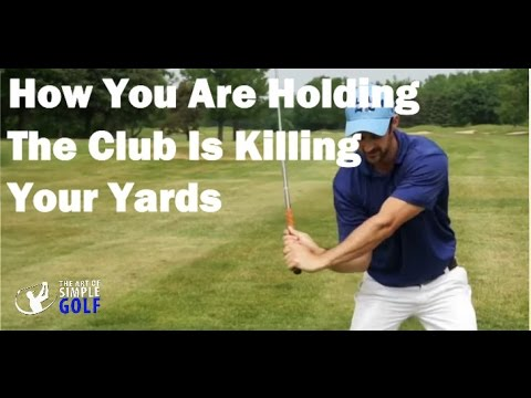 How To Increase Your Clubhead Speed: How You're Gripping The Club Is Killing Your Distances