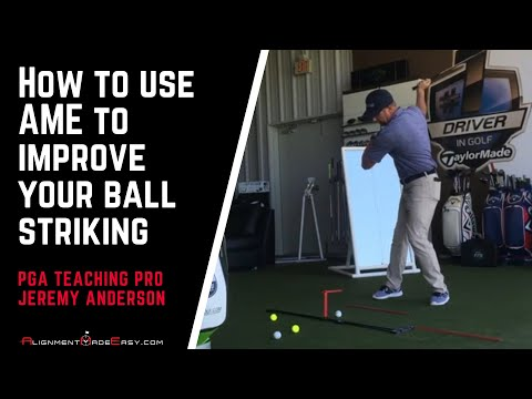 How to Improve Your Ball Striking with the Alignment Made Easy Golf Training Aid