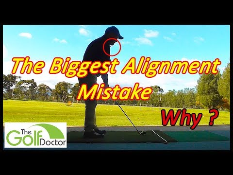 The Number 1 Simple Golf Alignment Mistake