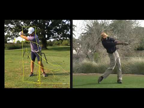 Golf swing hip turn for more power and consistency