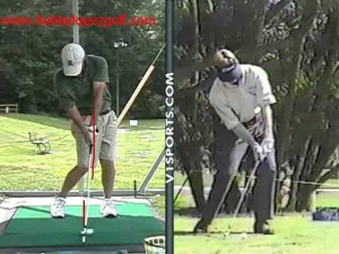 Golf Drills Down Swing Behind the Stick