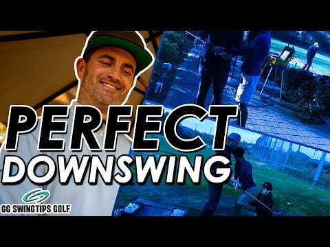 PERFECT Downswing Sequence Golf Drill