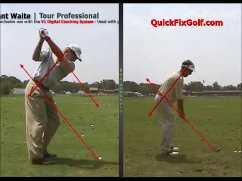 Golf Swing Path Plane Drill