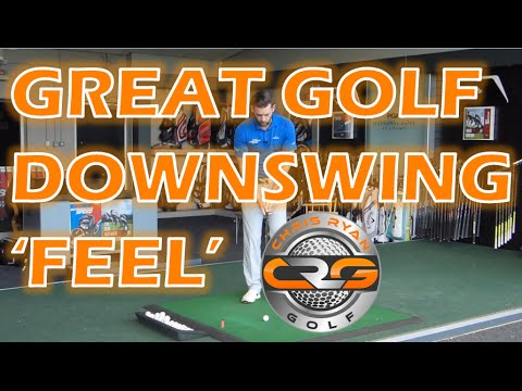 GREAT GOLF DOWNSWING 'FEEL'