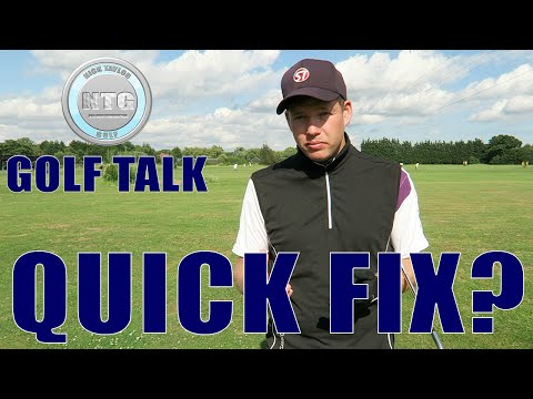 Quick fix? | Golf Talk | Episode 13