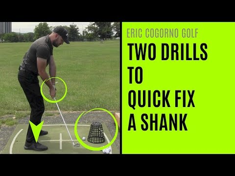 GOLF: Two Drills To Quick Fix A Shank