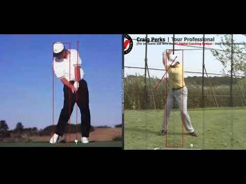 Stay in the box with your back swing and down swing
